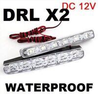 LED Light DRL Fog Lamps VT VX VU VY VZ VE Commodore Lights X2