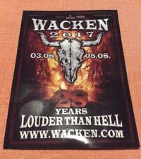 W:O:A 2017 WACKEN OPEN AIR Postkarte