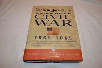THE NEW YORK TIMES COMPLETE CIVIL WAR 1861-1865 ~ DVD-ROM INCLUDED ~ LIKE NEW