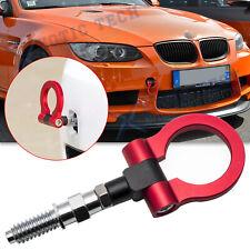 JDM Sport Red CNC Track Racing Aluminum Tow Hook For BMW 325i 328i 330i 335i E90