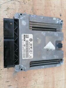 2007 VW EOS 2.0 FSI TURBO ENGINE MANAGEMENT ECU 1Q0907115C / 0261S02335