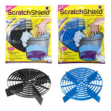 2 x Scratch Shield Grit Guard Adjustable Car Wash Bucket Water Filter BLACK BLUE