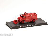 Fire Engine SUPER FIGHTER 327 JAPAN 1:67 Delprado Diecast - Feuerwehr CBO049