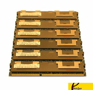 24GB (6x 4GB) 1333 ECC RDIMM Lenovo ThinkStation S20 (5520)4155, 4158, 4218-xxx