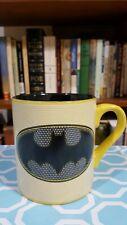 BATMAN yellow/black with white stripes 14oz mug, by Buffalo Silver