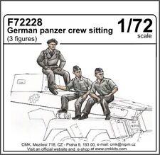 CMK F72228 1/72 Resin German Panzer Crew (5 half figures)