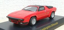 1/64 Kyosho LAMBORGHINI SILHOUETTE RED diecast car model