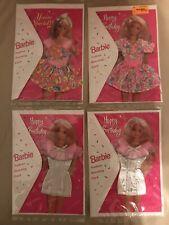 Mattel Barbie 1994 Fashion Greeting Cards set of 4 nrfp plus BONUS