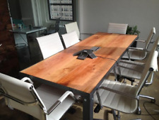 Custom Cherry Conference Table Dining Table