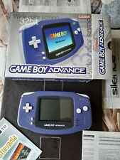 Nintendo Game Boy Advance  never used in original box with paperwork.