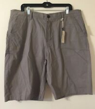 NEW Men's Lucky Brand Gray Cotton Shorts Sz 38 $59-
