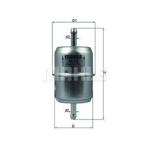 1 Kraftstofffilter MAHLE KL 18 OF passend für AUDI MERCEDES-BENZ VAG CUPRA