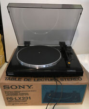 Turntable Sony PS-LX231 Fully Tested In Original Box Excellent Condition