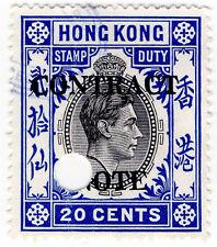 (I. B) Hong Kong ricavi: contratto nota 20 C