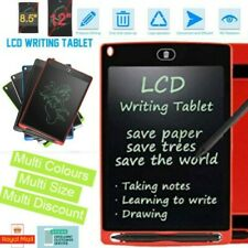 Electronic Digital LCD Writing Tablet Drawing Board Graphics Kids Gift Fun UK