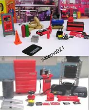 Mechanic and Garage Set Tools1:24 (G) Scale MWB!