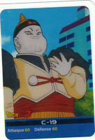 DRAGON BALL Z - Lamincards n° 134 - C-19   (5009)