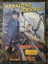 Mostly Unused Hopalong Cassidy Coloring Book 2950 Crowe Lowe Vintage Western