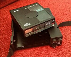 PHILIPS CD 10 MKll Compact disc player cd10 MK2 + Case EM 3001
