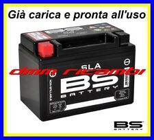 Batteria BS SLA Gel APRILIA SPORCITY 125 08>09 2008 2009 carica pronta all'uso