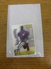 2003/2004 Portsmouth: yakubu aiyegbeni-firmato a mano sparare fuori TRADE card. grazie