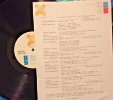 RADIO SHOW: 9/14/89 CHESS RECORDS! CHUCK BERRY, BO DIDDLEY, CLARENCE HENRY,DELLS