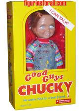 "CHILD'S PLAY TALKING CHUCKY 15"" ""GOOD GUY HAPPY "" MEGA DOLL Sound Bride Mezco"
