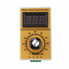 Drok Signal generator 4~20mA Constant Current Analog Simulator Adjusting Module