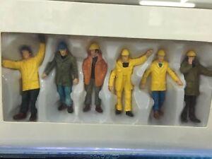 1:50 Worker Figurines 6pcs Figure Model Plastic For Construction Vehicle Scene