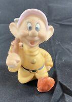 Disney Sri Lanka Snow White & Seven Dwarfs Porcelain Figurine Dopey Mint