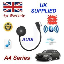 per AUDI A4 Bluetooth Music Streaming USB Modulo mp3 iphone htc nokia lg sony