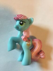 "My Little Pony Blind Bag Wave 1 Sweetie Blue #14 LOOSE Mini 2"" Figure 2010"