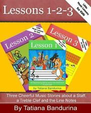 Little Music Lessons for Kids - Lessons 1-2-3 : Three Cheerful Music Stories...