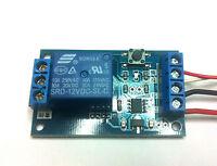 Circuito elettronico On/Off  Bistabile con pulsante, 12V  10A interruttore