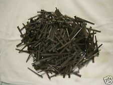 """VTG. 2 LBS. SQUARE CUT NAILS.TABELLE #8 STEEL CUT 2~1/2"""" HARDENED & TEMPERED~USA"""