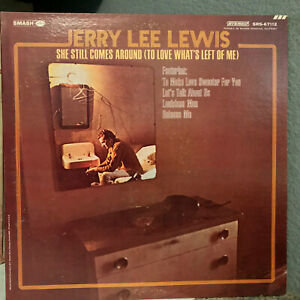 "JERRY LEE LEWIS - She Still Comes Around (Promo) - 12"" Vinyl Record LP - EX"