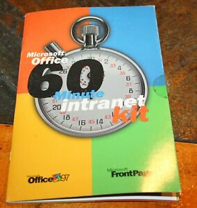 Microsoft Office 97 + FrontPage 97 CD - 60 Minute Intranet Kit from Microsoft