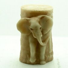 3D Elephant Candle Mould Silicone SoapMolds Craft Decorating Clay DIY Chocolate