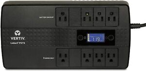 Liebert PST5-850MT120 850VA 500W UPS with Battery Backup & Surge Protection