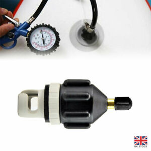 Sup Electric Pump Adapter Inflatable Boat Accessory Paddle Board Air Valve New