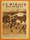 Le Miroir des Sports 517 du 17/12/1929-Coupe France.Oignies bat le club Français