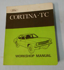 CAR WORKSHOP MANUAL - FORD CORTINA TC