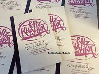 Wiz Khalifa Rollable Song Lyrics Tips RAWL BOOK 420 tips by RAW Rolling Papers
