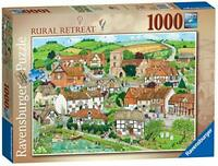 Ravensburger Jigsaw Puzzle RURAL RETREAT - Village Country Nature 1000 Piece