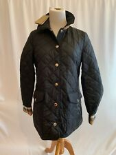 Burberry London Womens Westbridge Quilted Jacket NWT Size XS $695 Black