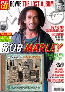 MOJO Bob Marley / David Bowie - Issue #274 / SEPTEMBER  2016 (NEW MAGAZINE + CD)