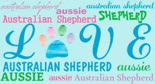 Australian Shepherd Love Magnet
