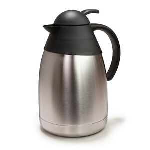 e-Best Kaffeekanne, Thermoskanne, Isolierkanne für Kaffee und Tee, doppelwandig