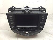 04 Honda Accord 6 disk Nav Navigation Radio HEAD UNIT 39051-SDA-L410-M1 2CK1 oem