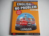 DVD NEUF-ENGLISH NO PROBLEM /DEBUTANT N°1 -INCLUS 1 DVD + 1 LIVRE + 1 COURS AUD